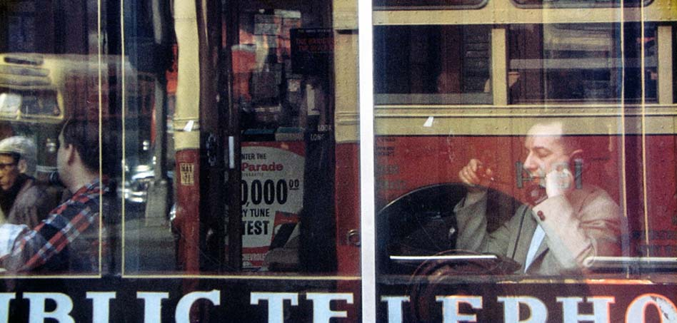 Saul Leiter, Phone Call, Colors 1957